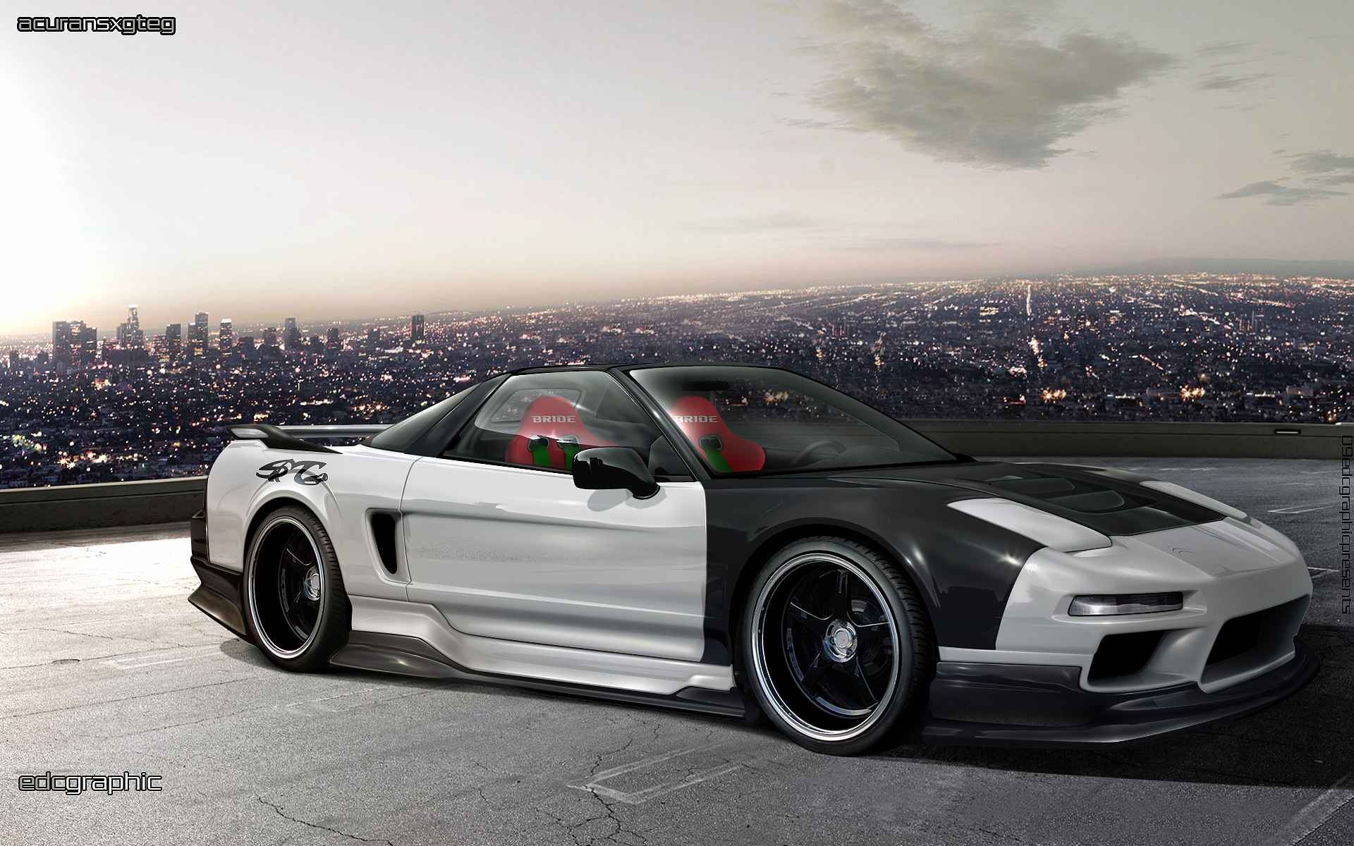 acura nsx by edcgraphic on deviantart. Black Bedroom Furniture Sets. Home Design Ideas