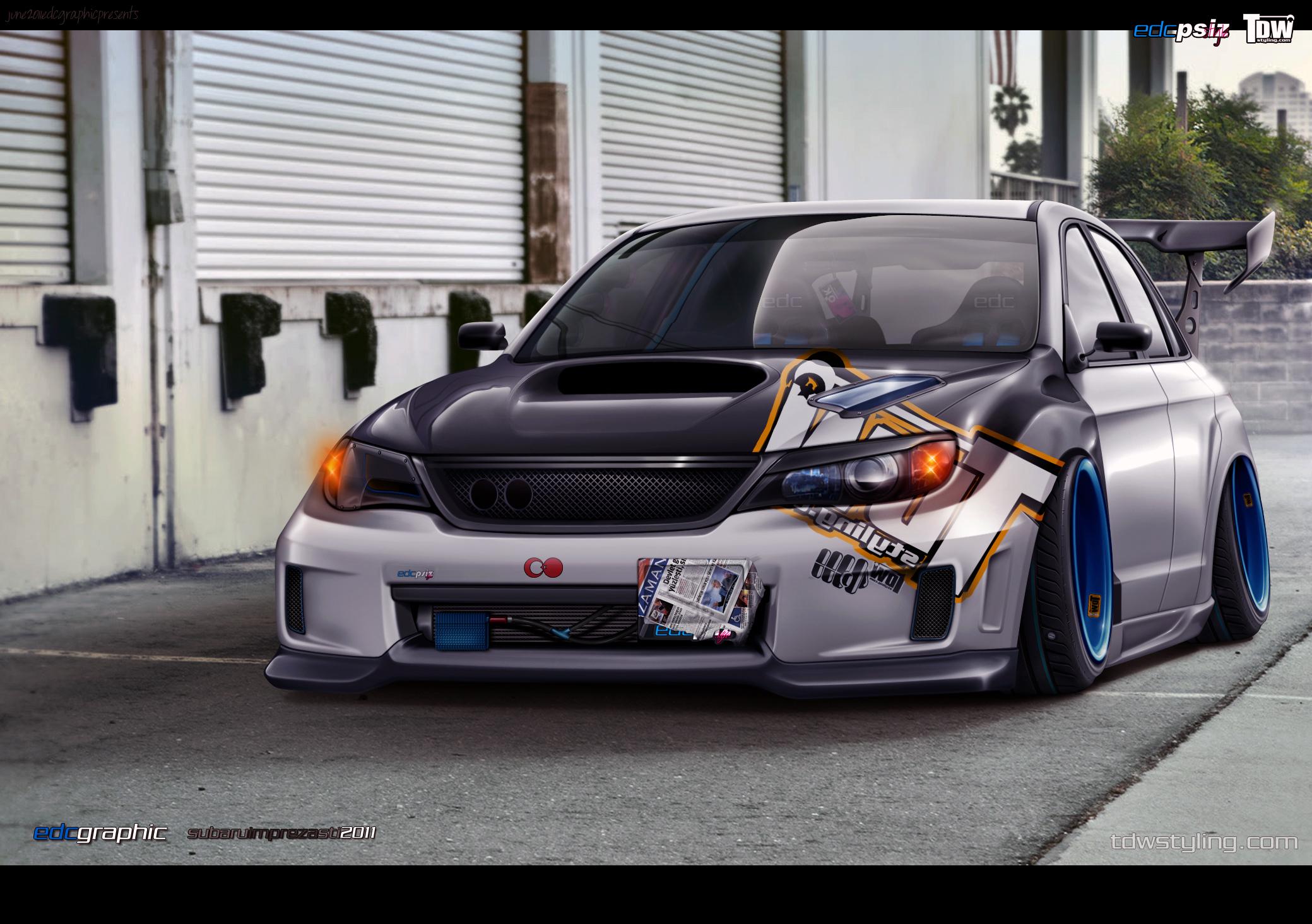 Subaru Impreza Sti by edcgraphic