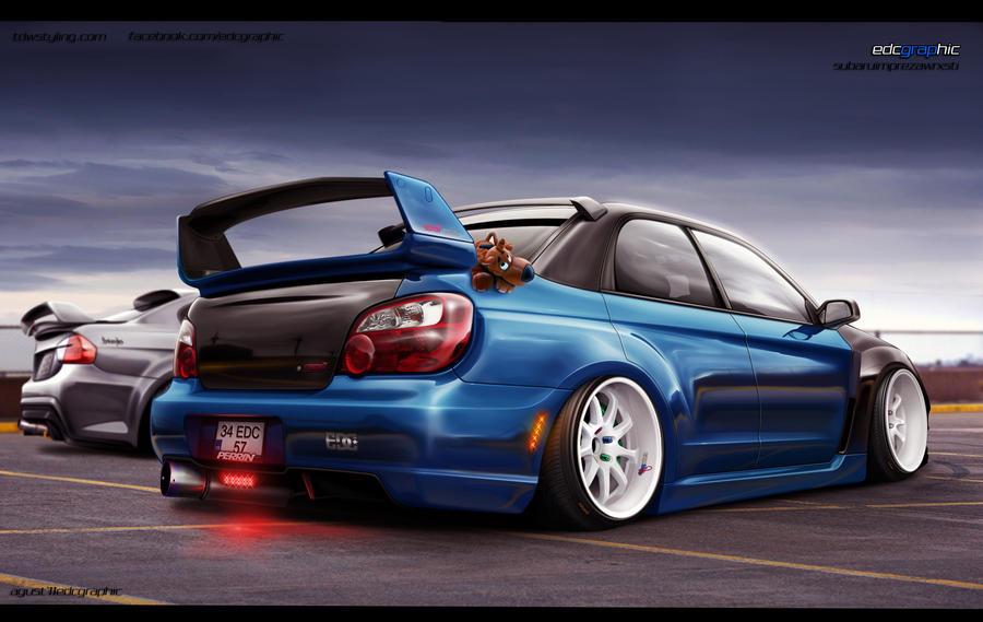 Subaru Impreza WRX STI by edcgraphic