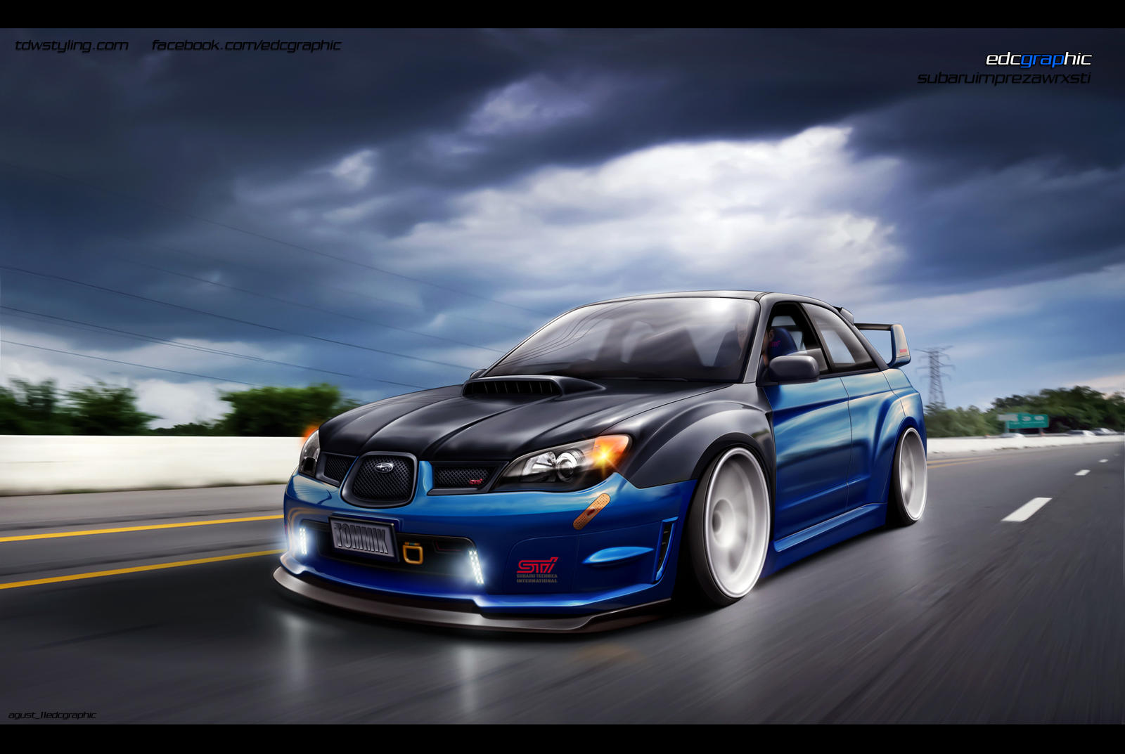 Subaru Impreza WRX STI 2 by edcgraphic