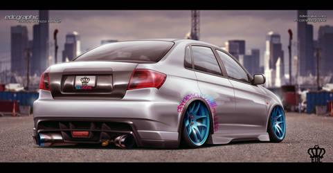 Subaru Impreza 2012-SILVER EDITION by edcgraphic