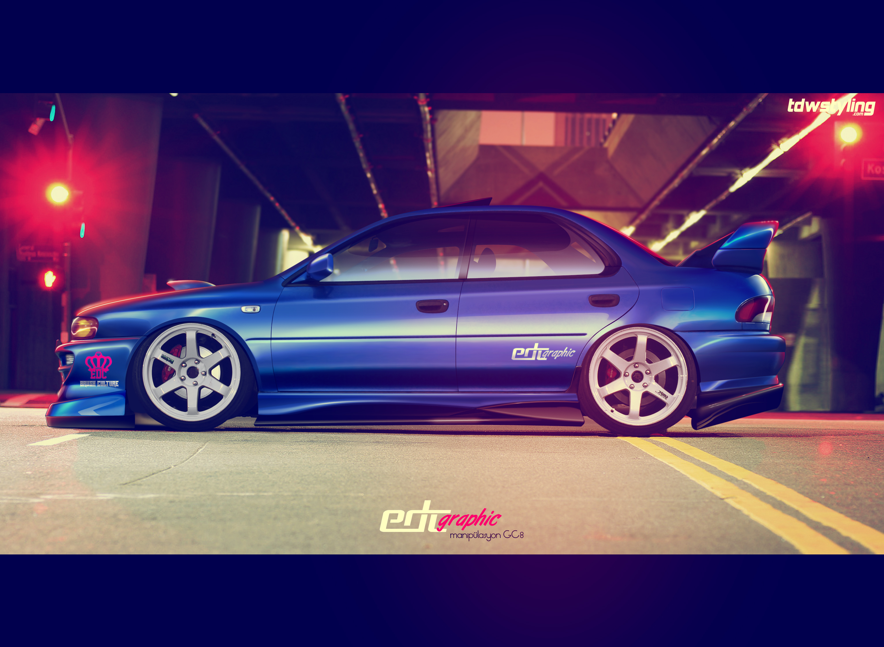 Subaru Impreza GC8 Manipulasyon by edcgraphic