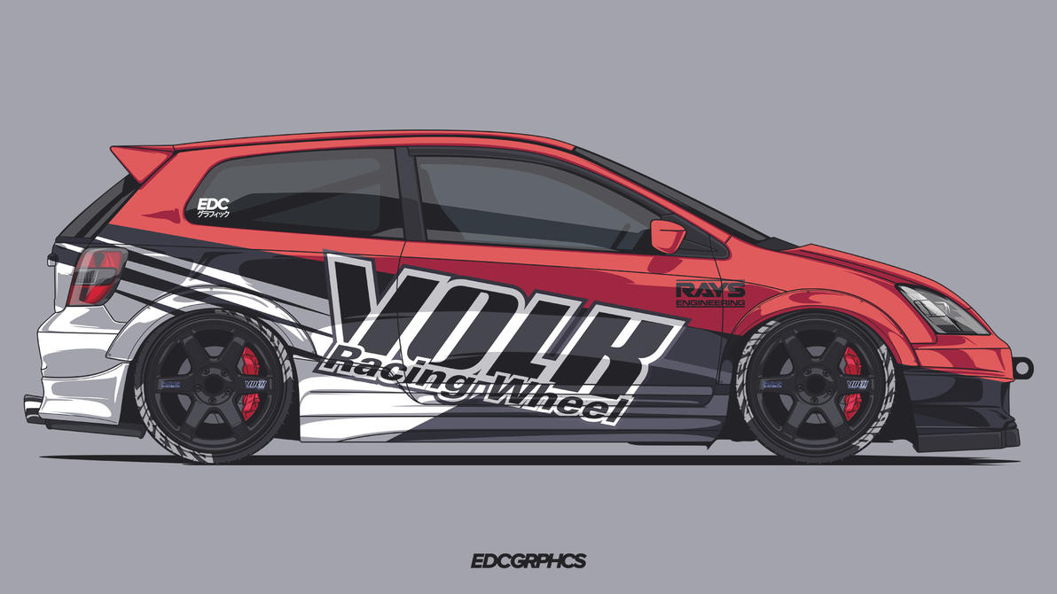 honda civic type r ep3 edcgrphcs by edcgraphic on deviantart. Black Bedroom Furniture Sets. Home Design Ideas