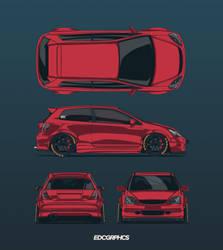 Honda Civic TypeR Allview #EDCGRPHCS