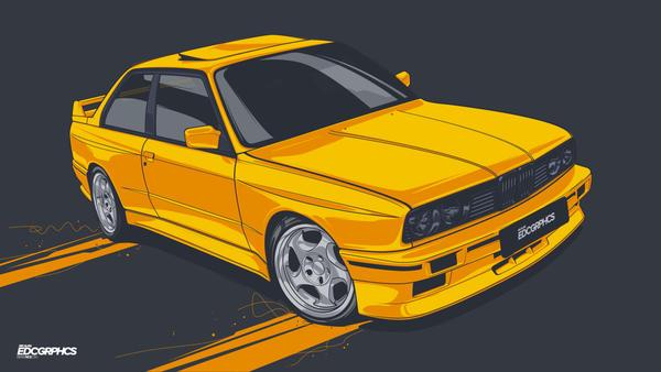 Bmw E30 M3 #EDCGRPHCS