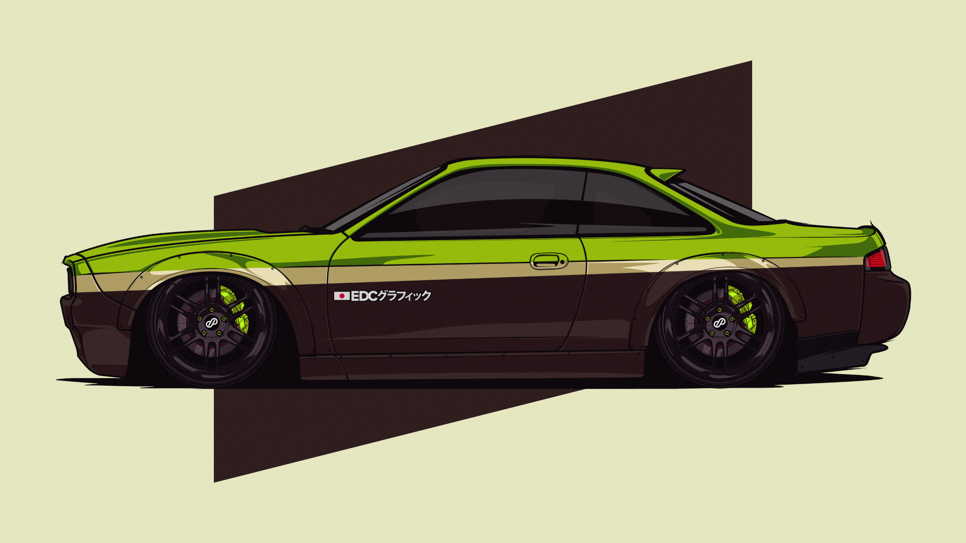 Nissan 200SX S14 V2 BOSS KIT #EDCGRPHCS by edcgraphic on
