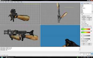 Venom machinegun progress... by GothixBE