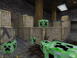 creepers in HalfLife1? by GothixBE