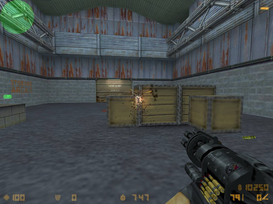 Wolfenstein mini-gun in CS1.6 (with download link! by GothixBE