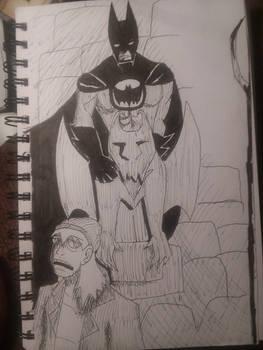 Inktober '19 - Batman