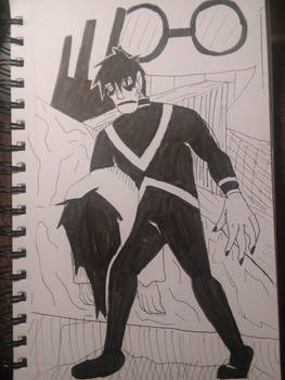 Inktober '19 - The Cabinet of Dr. Caligari