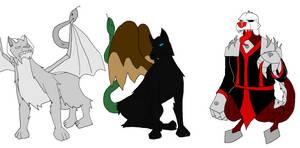Demon King Demons 3# - Amon, Marchosias, Picollus