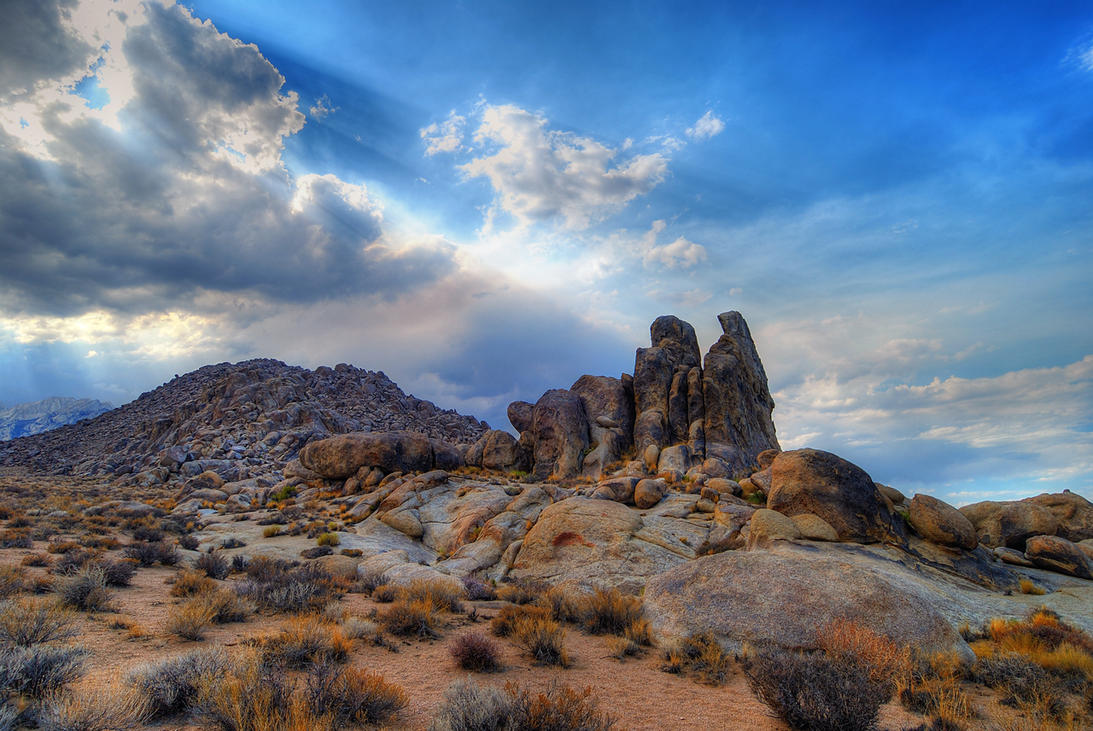 Alabama Hills by sgwizdak