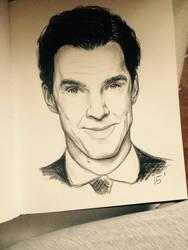 Benedict Cumberbatch by MatyldaSzytula