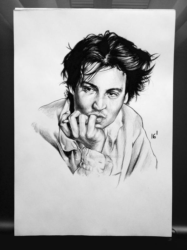 Johnny Depp by MatyldaSzytula
