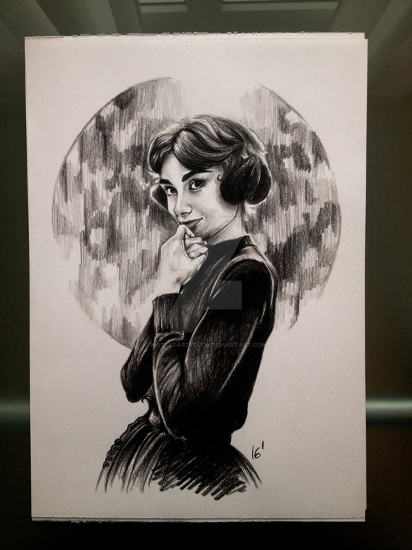 Audrey Hepburn by MatyldaSzytula