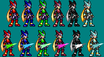 Megaman Zero JUS Style Color by MasterLiLink