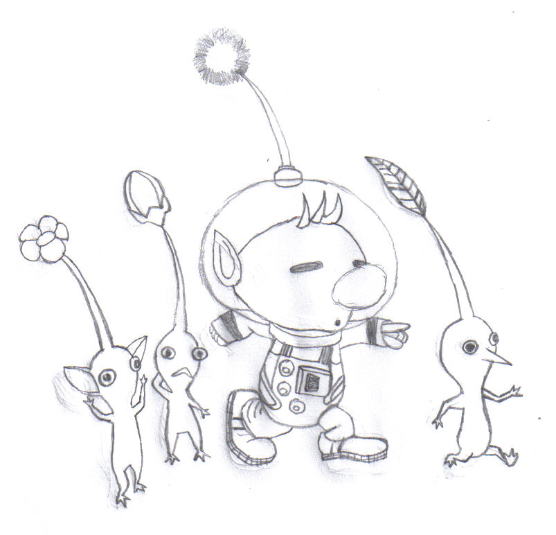 rock pikmin coloring pages - photo#7