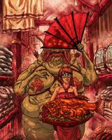 Fishmarket by korintic
