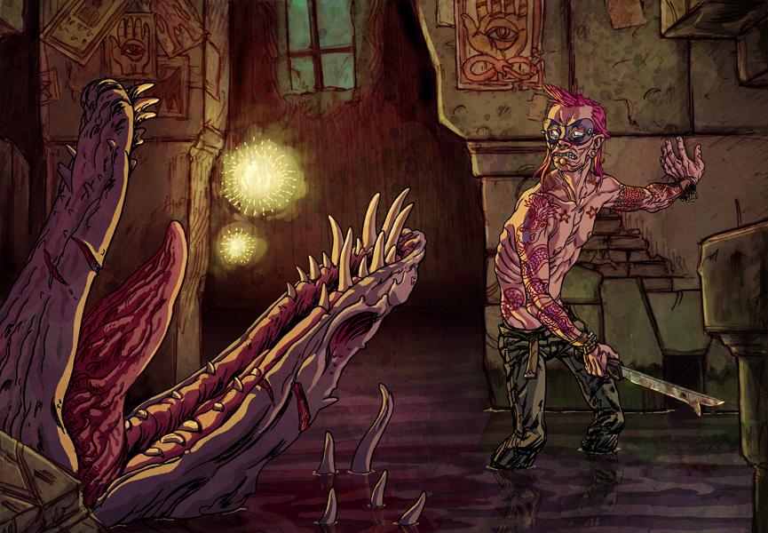 Dragon Slayer by korintic