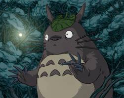 Totoro by korintic