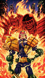 Judge Dredd by korintic