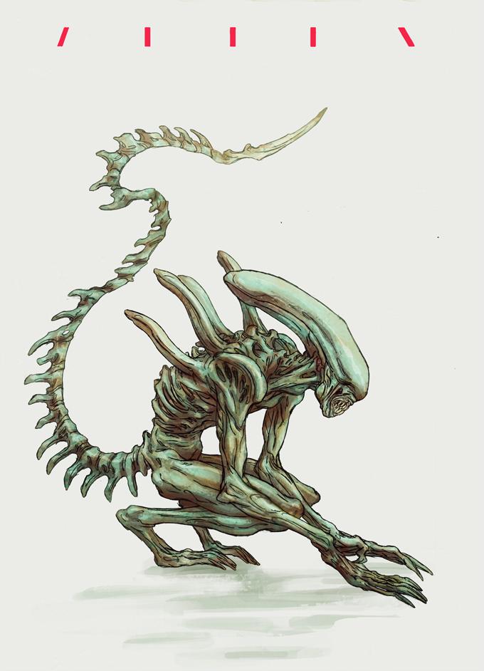 Alien by korintic