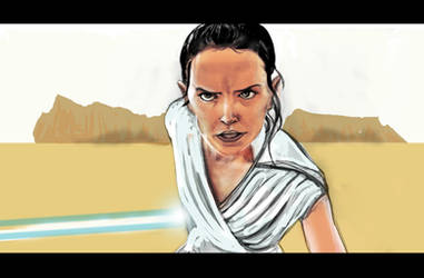 Rey From Star Wars IX
