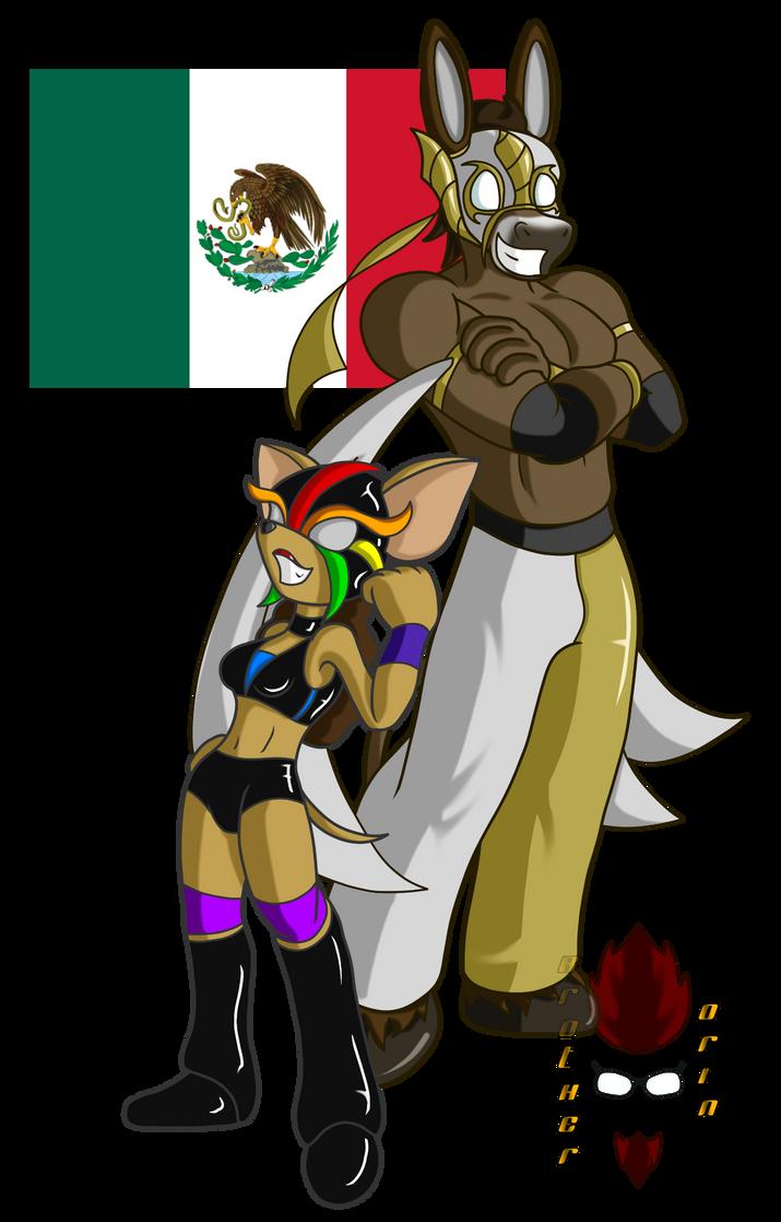 Los Dos Magnificos: Lucha Libre by Brother-Orin