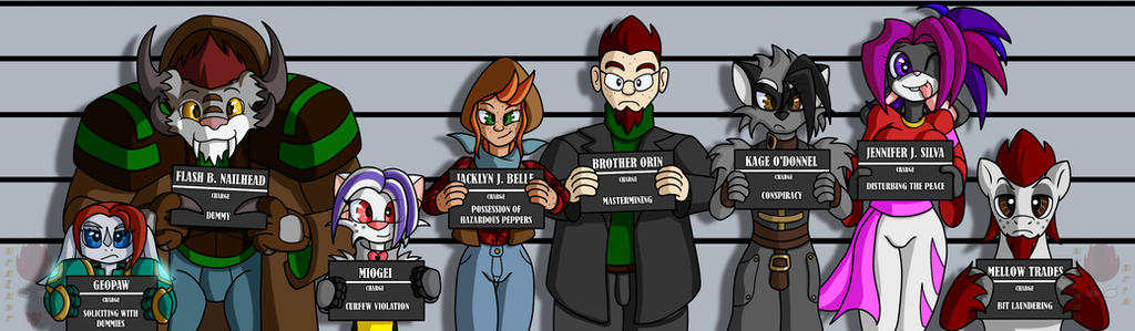 The Unusually Usual Suspects by Brother-Orin
