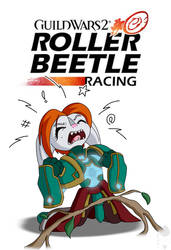 GW2: Roller Beetle Racing Official Poster by Brother-Orin