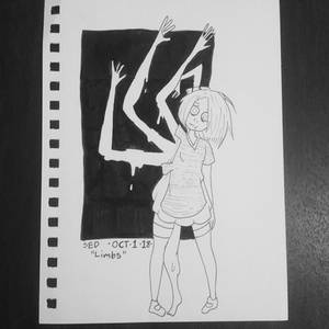 Inktober day 1: Limbs