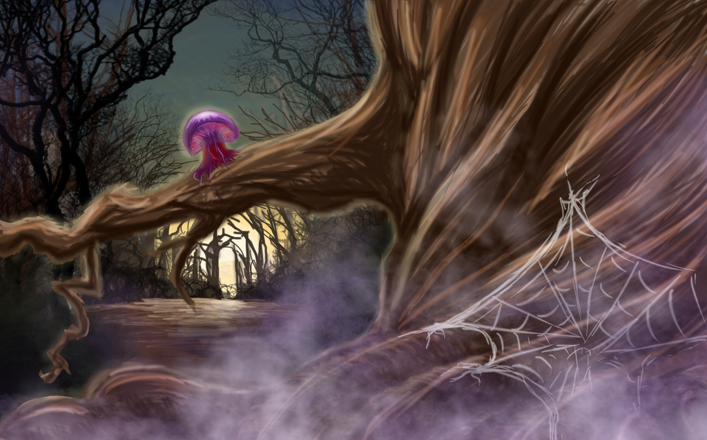 Dream Fades To Reality, And The Trees Become Real by Sasu-chanxNaru-chan