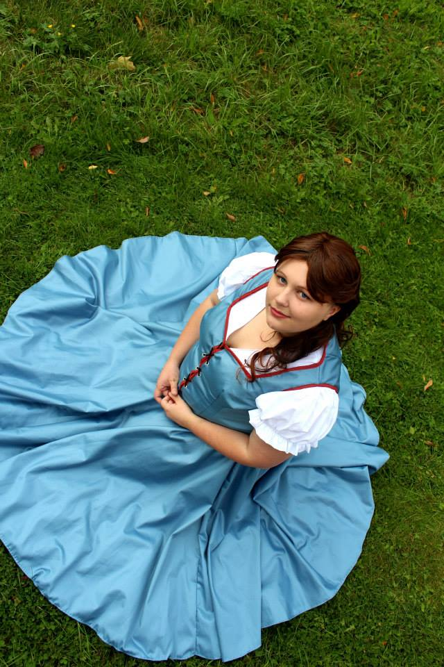 Once upon a time... - Belle (OUAT) by Sawako-nee