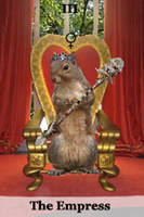 3-The Empress- Squirrel Tarot by Yamtharf