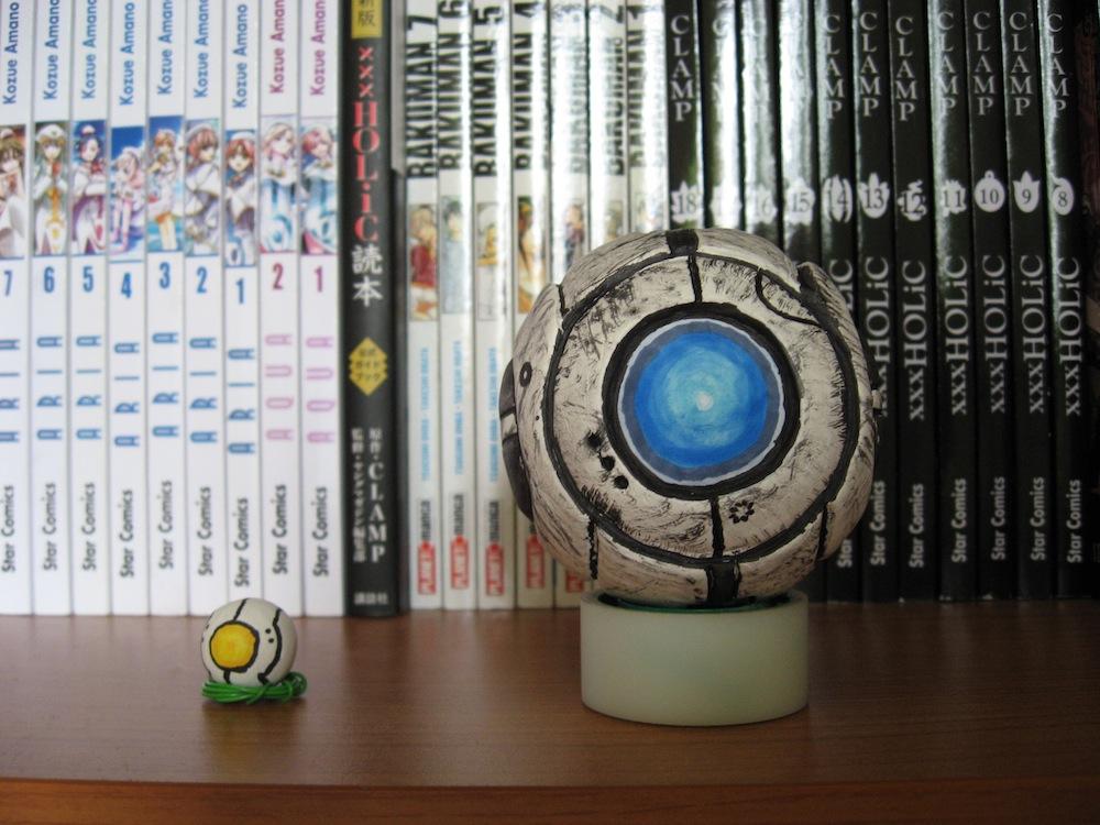Wheatley and Curiosity by Asakura-san