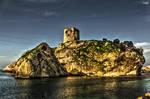 Huge Rock and Castle