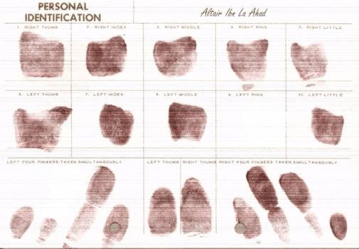 Altair Fingerprints
