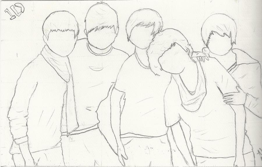 Dibujos Para Colorear De One Direction
