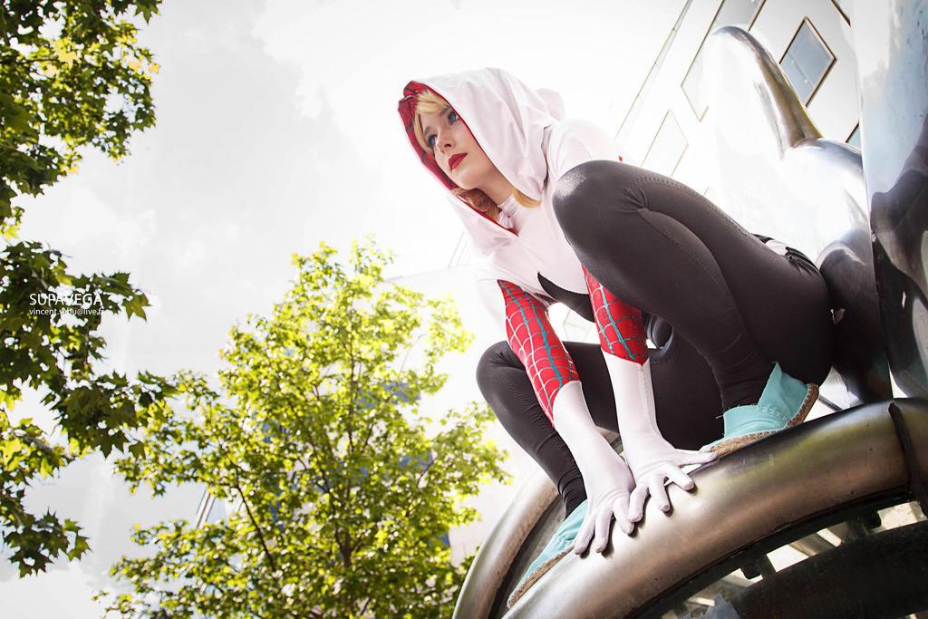 Cosplay Spider Gwen VII By ReaverSkill On DeviantArt