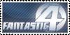 Fantastic 4 Stamp by ninja-doodler