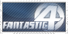 Fantastic 4 Stamp by ninja-doodler