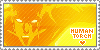 The Human Torch Stamp by ninja-doodler