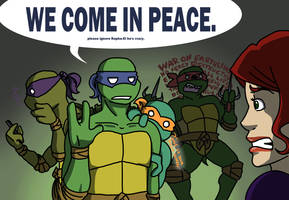 TANT: WE COME IN PEACE by ninja-doodler