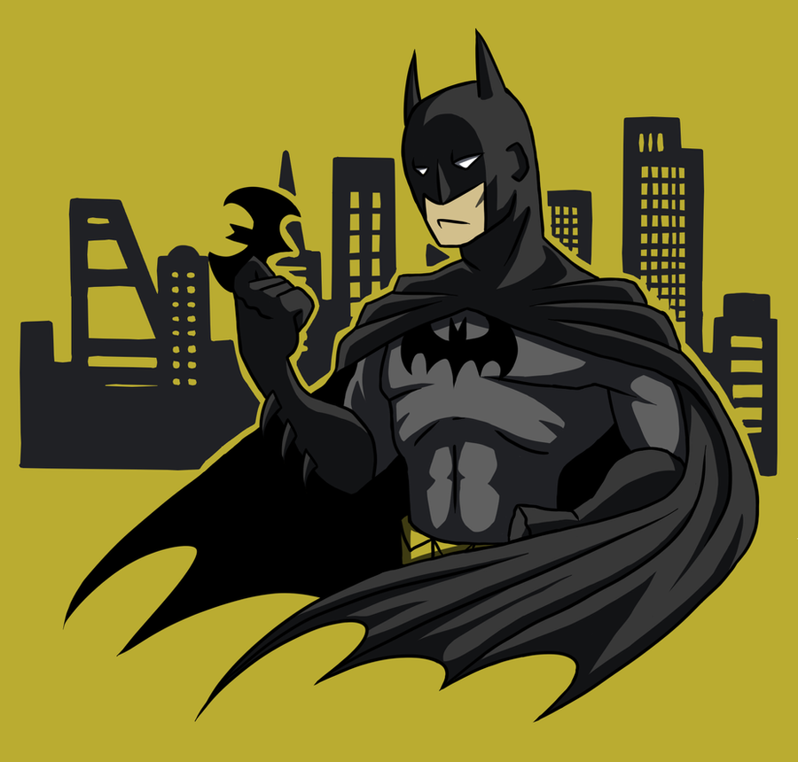 Batman mural design by ninja doodler on deviantart for Batman mural wallpaper