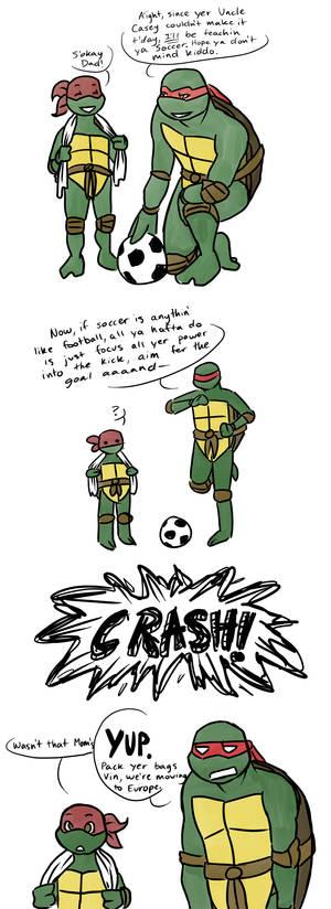 Don't Play Soccer Inside
