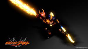 [MMD]Kamen Rider Agito Trinity Form Wallpaper