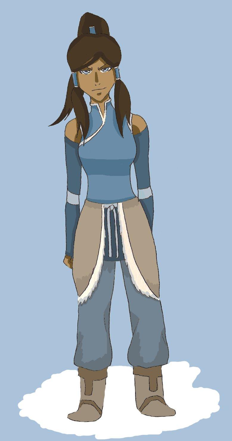 Korra Book 2 Outfit by NelielDante