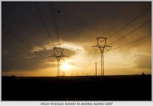 High Voltage Sunset