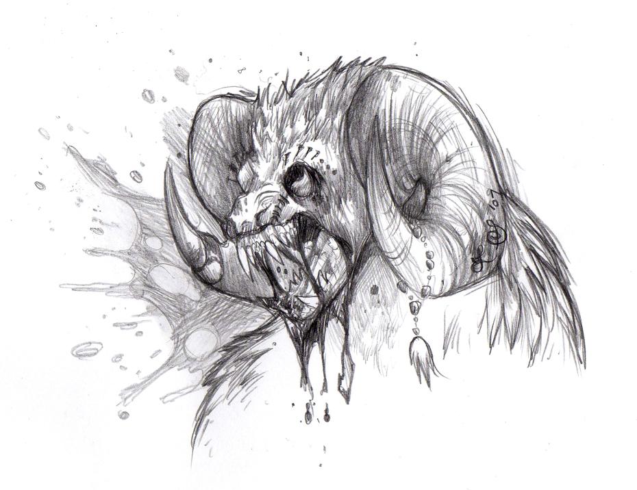 Inner Demon by Crazy-Dragon